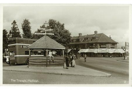 Hadleigh Church Bus Shelter