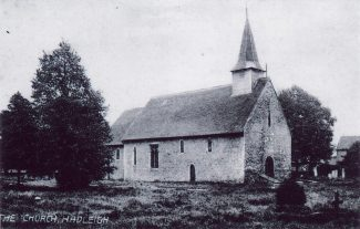 St James The Less Church, c.1902, where William Strangman is buried.