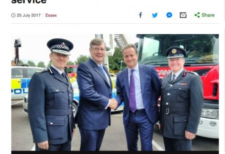 Essex has first Police, Fire and Crime Commissioner