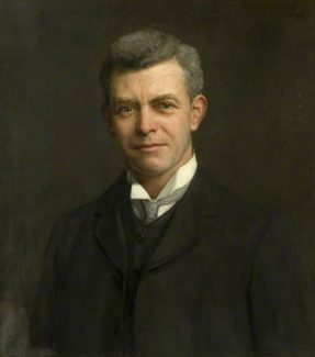Sir Charles Archibald Nicholson, 2nd Baronet, painted by H. A. Olivier circa 1909   Southend-on-Sea Borough Council, Civic Collection (Beecroft)
