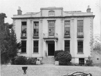 By the time this photo was taken Hadleigh house had been renamed Victoria House