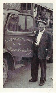Early rising Herbert Lennard