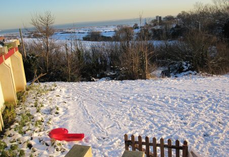 Hadleigh in the snow