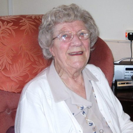 Edie, at home - 93 years young   Lynda Manning