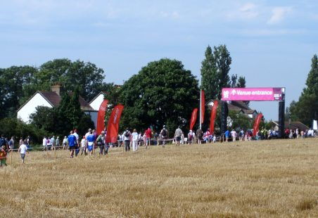 Going to the 2012 London Games at Hadleigh Farm