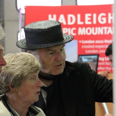Cunning Murrell (aka Robert Hallmann) explaining Hadleigh history | Graham Cook