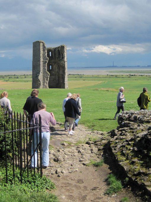Heading for Hadleigh Castle | Lynda Manning