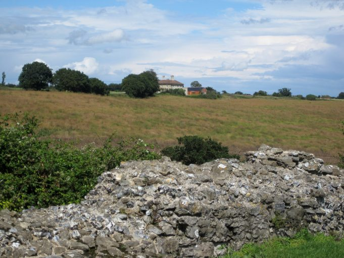 Park Farm House from Hadleigh Castle | Lynda Manning
