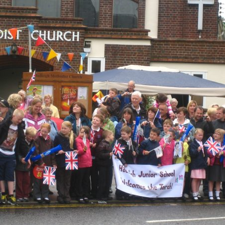 Waiting for the torch | Chris Worpole