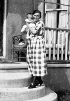 Ian and Mother; Doris | Ian Hawks