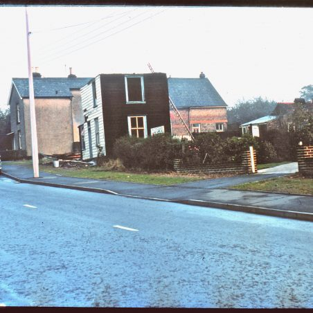 Looking back to 1970, Victory Villa is dwarfed by the Peculiar People Chapel, since demolished.