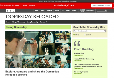 Domesday Reloaded