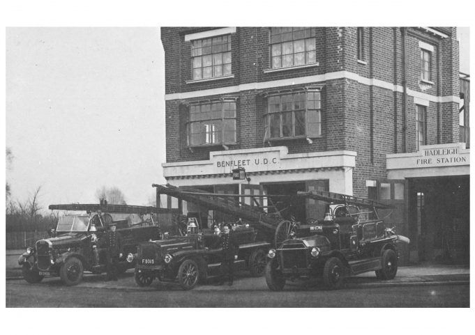 Hadleigh Fire Station around 1931,   also not on the list