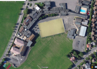 Satellite photo in 2016/2017 | Google Maps
