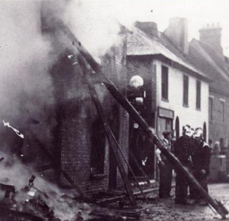 High Street Blaze 1933