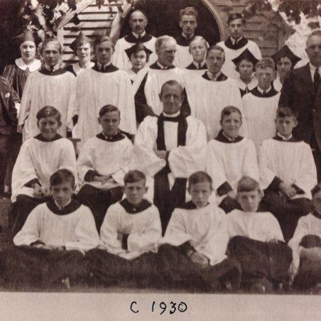 St James The Less Church Choir c.1930 | Bob Nichols' collection