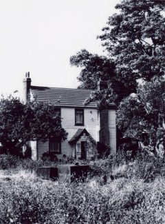 Sayers farmhouse in 1986, the site of Stockwoods Farm | Tony Harvey
