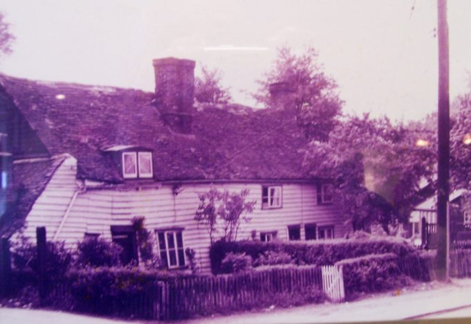 The Cottage 1920's | From a postcard.