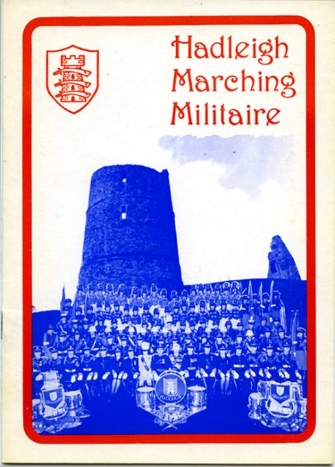 A brochure cover of c.1980 | Hadleigh Marching Militaire