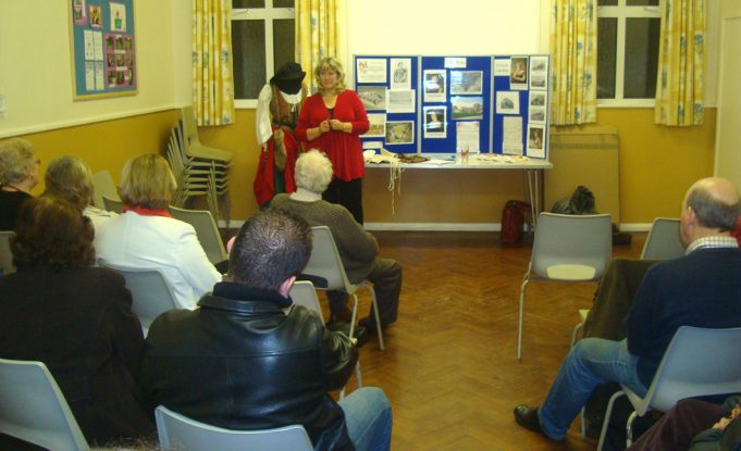An evening with AGES Archaeological and Historical Association at Hadleigh United Reformed Church hall.