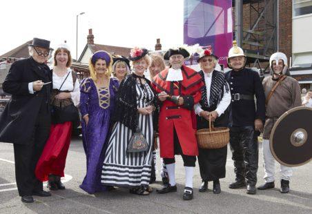 Hadleigh Folk from History