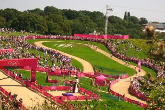 The Olympic course | Chris Worpole