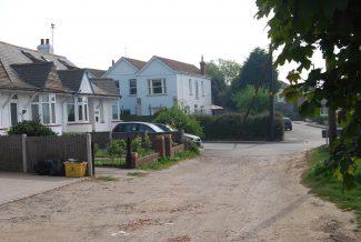 Castle Road meets Castle Lane (2011) | Ian Hawks