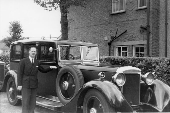 Archie Adams, Manor Lodge, Thundersley, 1957. David's Dad Archie | Derek Barber Collection