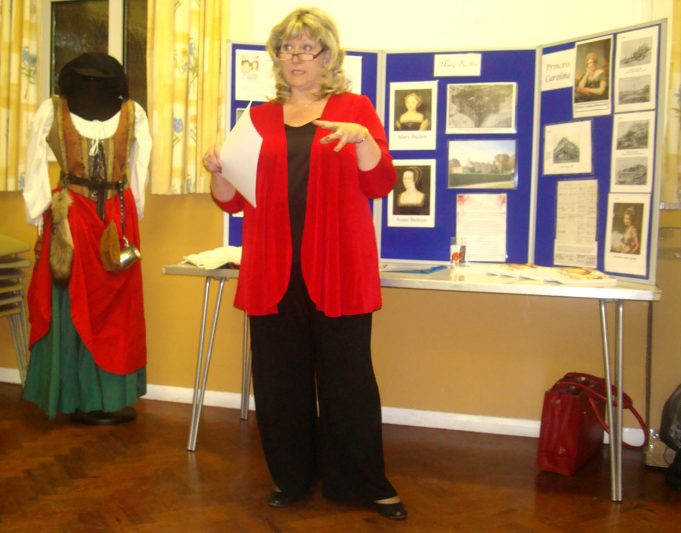 Historian Karen Bowman explaining the past plight and pleasures of Essex Girls.