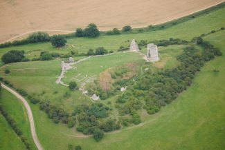 Current castle from the air   Andrew Summers