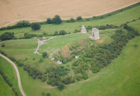 The Building of Hadleigh Castle