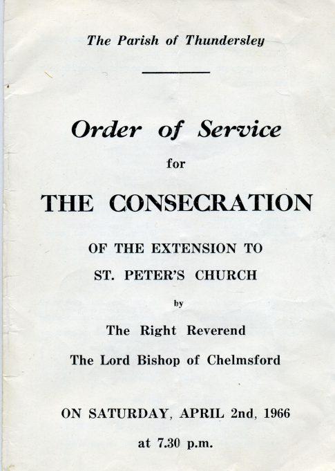 Order of service | Ian