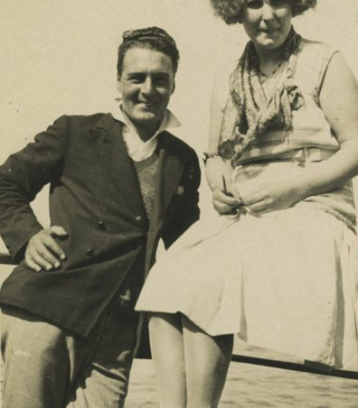 Herbert John Chalk (Jim) and wife Eileen (early 1930s). | Gill and Colin Blackall
