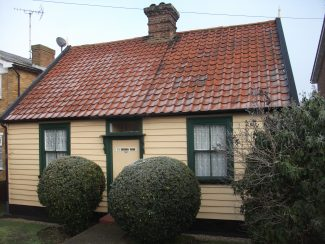 The cottage in 2012 when recommended for local listing | Terry Barclay