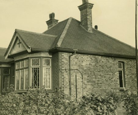 'Orchardville' in Daws Heath Road, early 1930s. The bungalow was sold in 1959. In June 2004 it was for sale at £249,995. | Gill and Colin Blackall