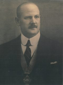 A.R.Adams during his time as Chairman of the Benfleet UDC