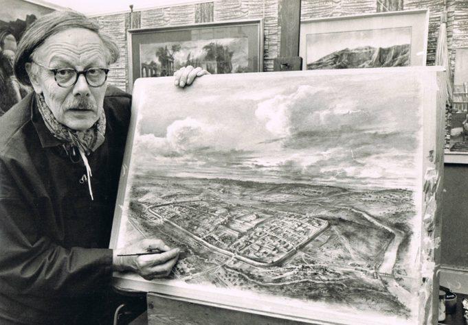 Alan Sorrell, Artist of historical reconstruction | © Julia Sorrell