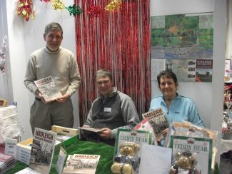 Nick, Terry and Val on the HTCA Stall | Hadleigh & Thundersley Community Archive
