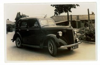 Cyril Wiggins' Austin 8 | Rita Brown Collection