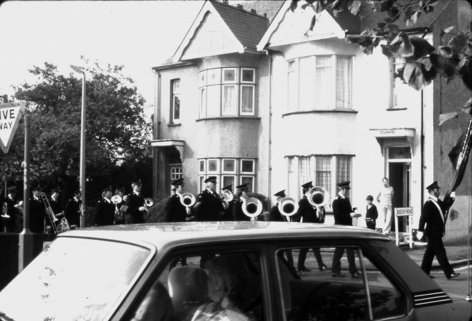 Salvation Army Band in Castle Lane. | Ian Hawks