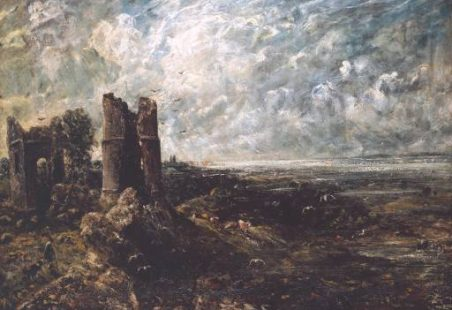 John Constable and Hadleigh Castle