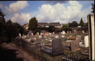 The Graveyard of the former Peculiar People at Daws Heath | Derek Barber Collection