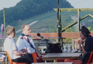 Salvation Army leaders Comm. André & Sylvia Cox, interviewed by Ian Wyatt, live on BBC Essex on Sunday morning 12th August