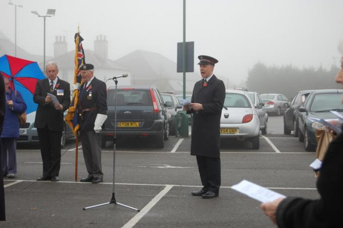 Hadleigh and Thundersley British Legion Standard | Bridget Underwood.