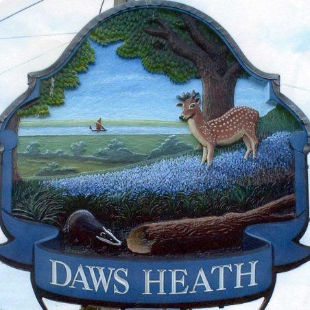 Daws Heath Sign