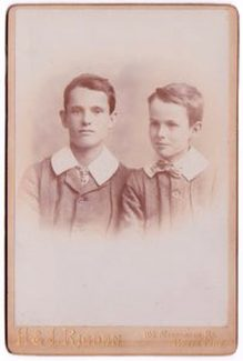 The Doust brothers | Doust family archive