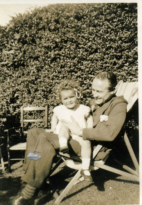 Dr. James with his daughter Caroline | Ian Hawks