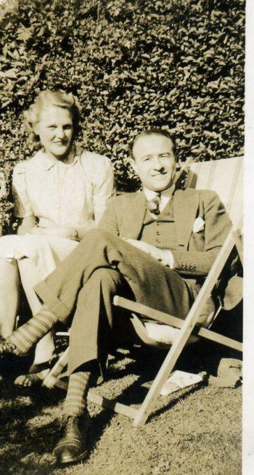 Dr.James and his wife Helen | Ian Hawks
