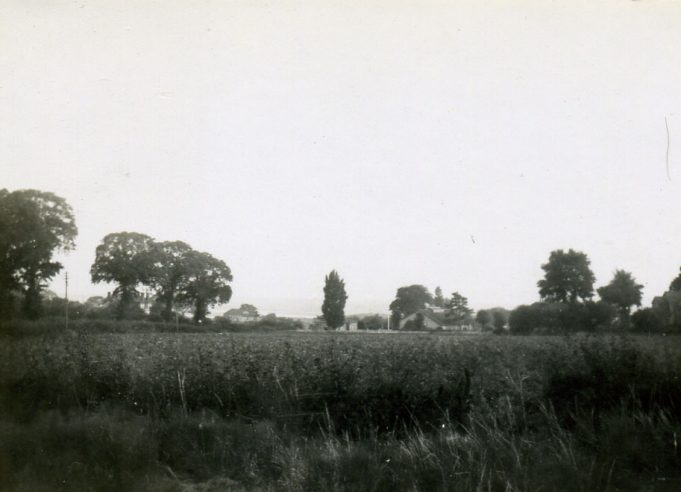 Castle Lane from Dorlie showing old elm trees and old S.A Citadel   Ian