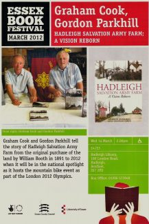 Talk at Hadleigh Library | Wednesday 14th March 2012